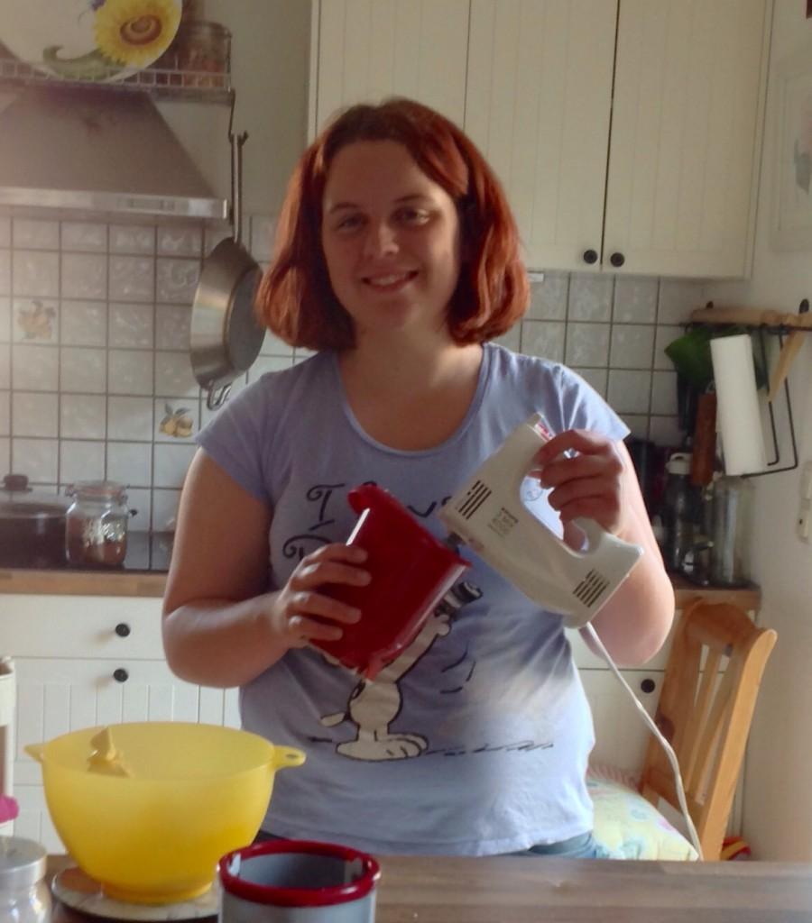 Bei mir zu Hause in der Küche
