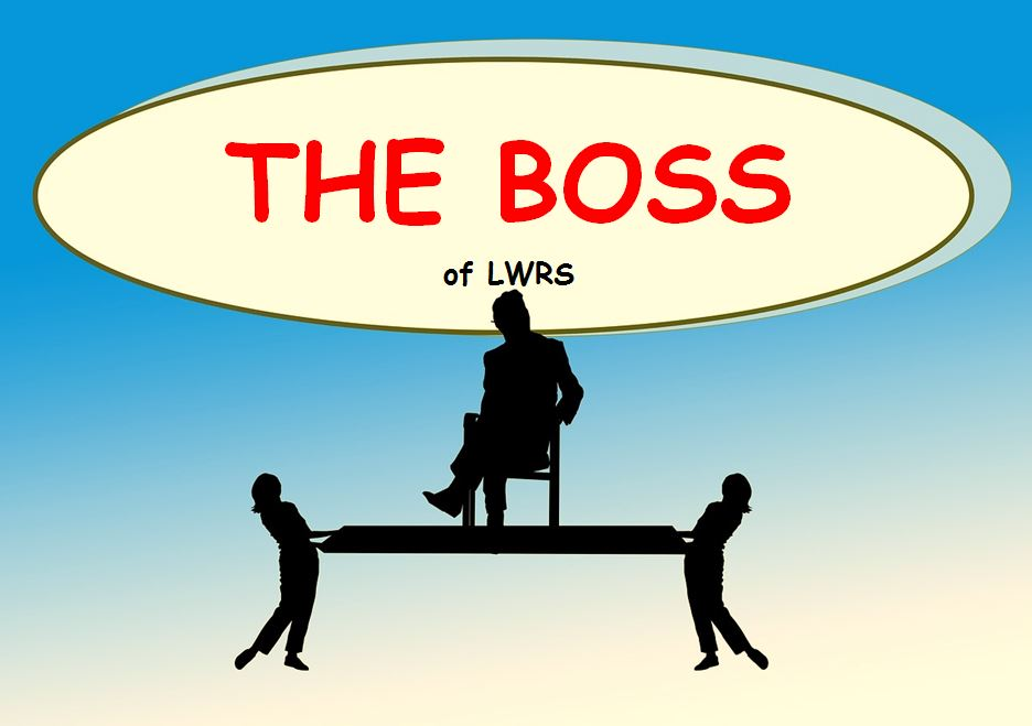 The Boss of LWRS