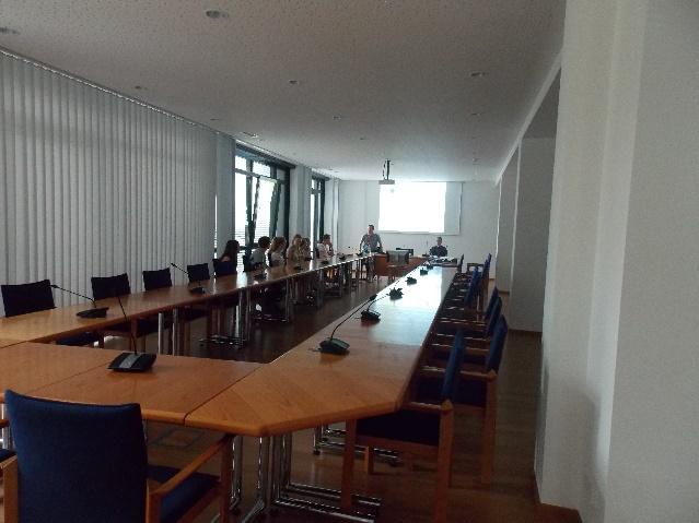 Der Konferenzsaal der Stadtverwaltung Schwabmünchen
