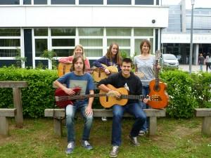 Die Gitarrengruppe 2014/2015