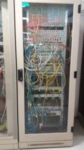 Schaltzentrale für die Technik