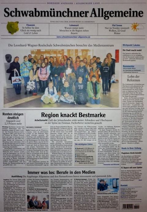 480° bei der Augsburger Allgemeinen Zeitung