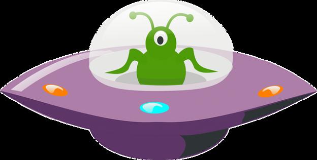 ufo bil für Artikel über UFOs